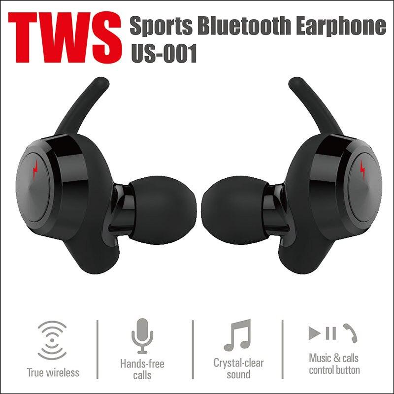 US001 Mini Sem Fio Bluetooth 4.2 Fones de Ouvido Earplug Estéreo Binaural Headset Para TWS Suporte HFP/HSP e AVRCP