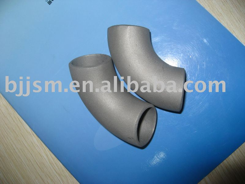 Titanium pipe fitting in fittings from home