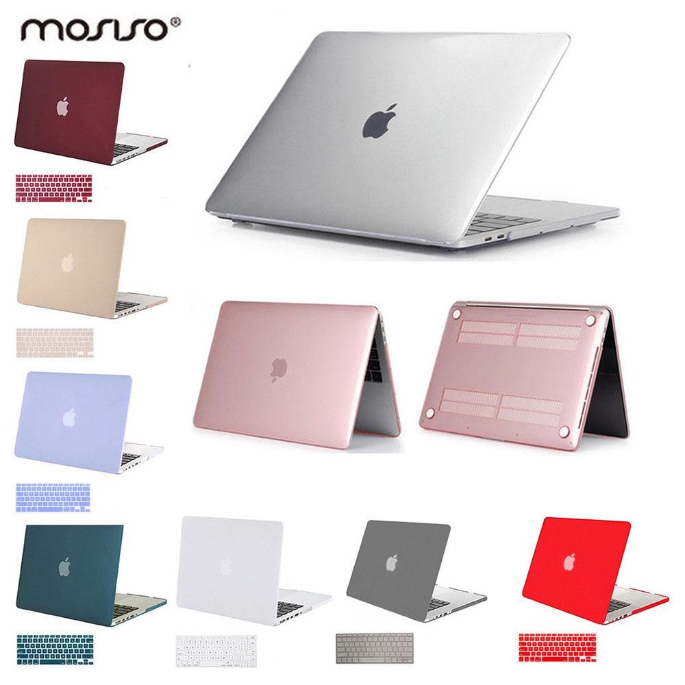Macbook Air üçün 11 ədəd Mosiso Laptop Plastik Qollu Qapaq Qutusu 11 düymlük Mac Pro 13 15 Retina 2008-2018 Laptop Mac Case Aksesuarları