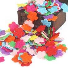 Креативный нетканый пластырь детская ручная головоломка материалы лепестковая Корона узор Детские патчи товары для шитья и рукоделия DIY стикер