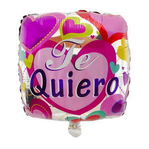 Image 5 - 10ชิ้น/ล็อต18นิ้วสเปนTE AMOลูกโป่งฟอยล์วันแม่หัวใจฮีเลียมอากาศGlobos Decorวาเลนไทน์วันBaloes