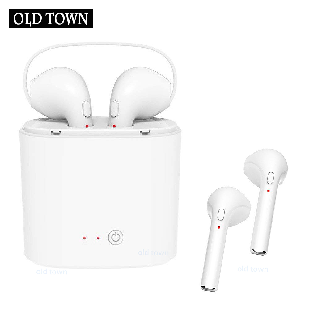 TWS In-Ear Earpods I7 Wireless Earphone Bluetooth Headset Music Earbud with Mic for Apple IPhone Samsung Xiaomi Xiomi Head Phone