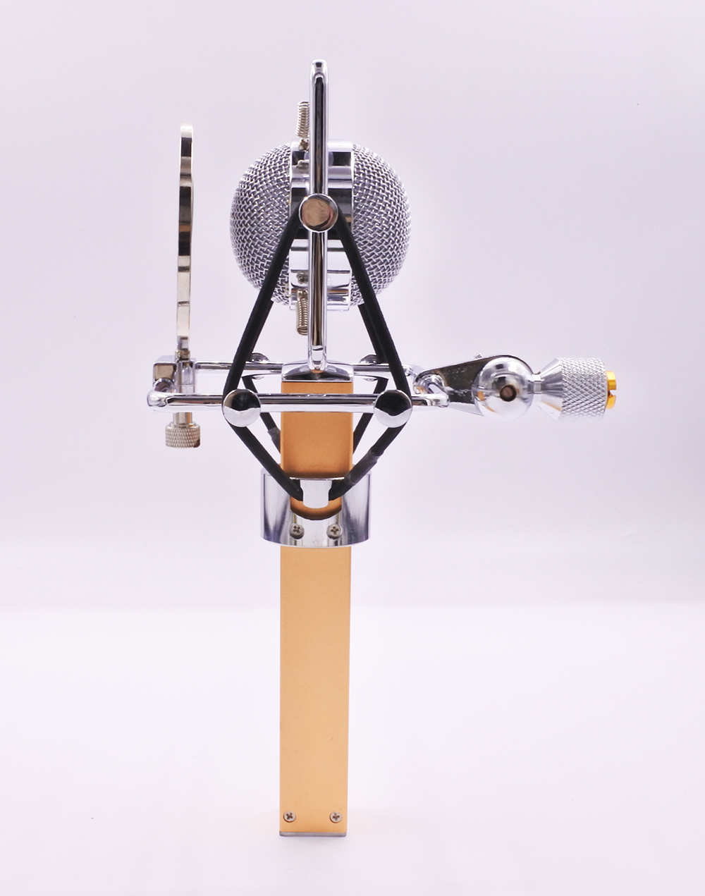 Dragonfly style professional studio computer vocal recording condenser microphone internet video live show
