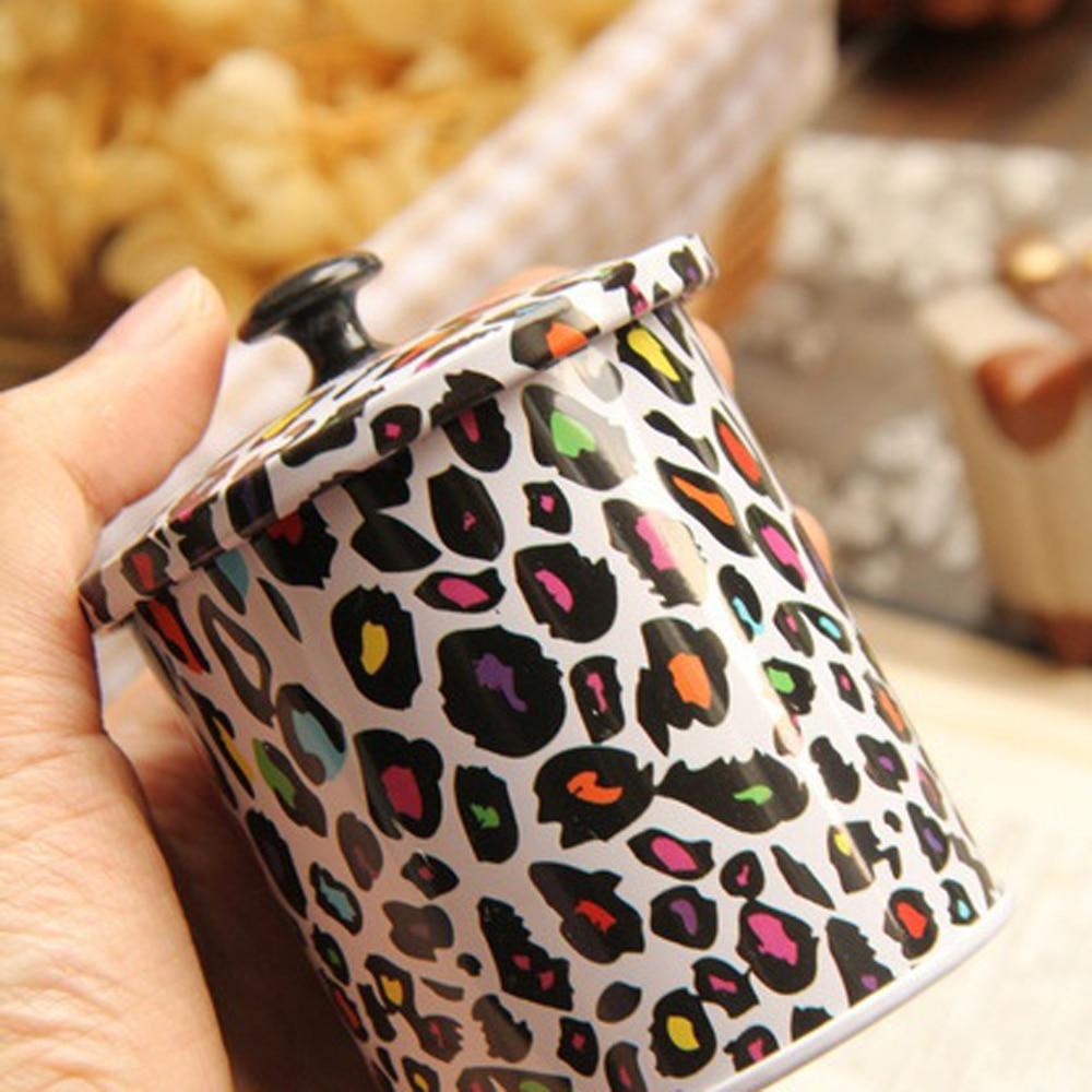 3 Unids / lote Nuevo KEYAMA Cajas de lata de té o dulces con tapa - Organización y almacenamiento en la casa - foto 3