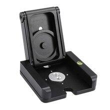 Новый складной Z Тип подставка держатель Профессиональный штатив Комплект Flex наклона полукруглой головкой шаровой головкой складной Desktop Совместимость Камера видеокамера