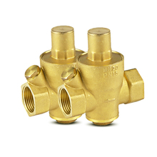 DN15 DN20 DN25 Brass Water Pressure Reducing Maintaining Valves Regulator Mayitr Adjustable Relief Valves With Gauge Meter