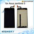 1 peça frete grátis preto testado display lcd para asus zenfone 5 a500kl a500cg a501cg com tela de toque digitador 5 polegadas