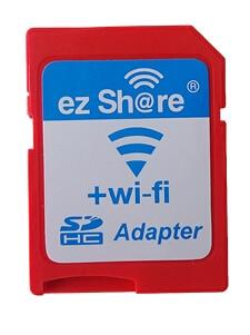 ezshare High Speed Wireless WIFI WLAN SD Card Adapter , Micro ez share SD card to SD Wifi Adapter