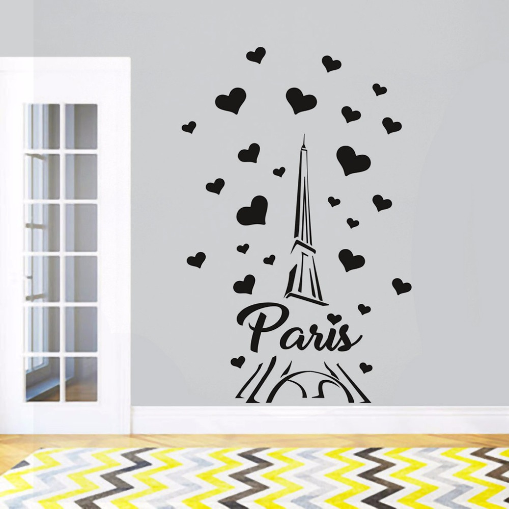 I Love France Sticker Decal Die-Cut Vinyl 2