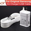 100Set/lot Fast charging AU Plug Wall Charger + micro USB Cable for Samsung Galaxy Note 4 5 S7 S6 edeg