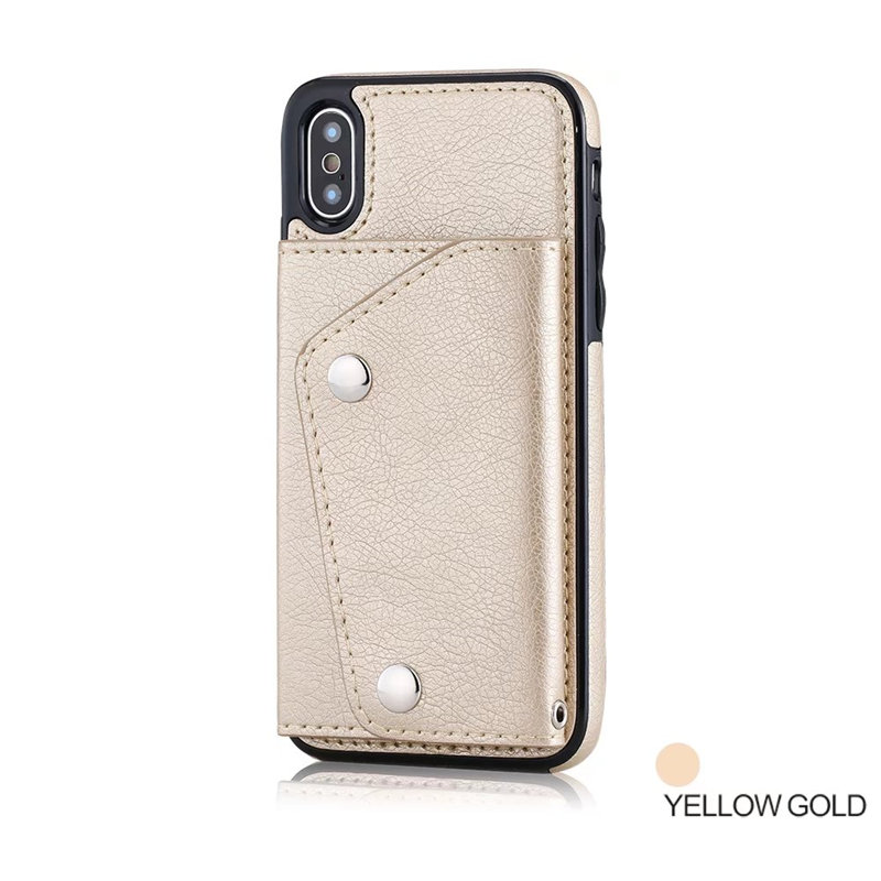 Luxury Cover for iPhone X Case Wallet Cards Slots (13)