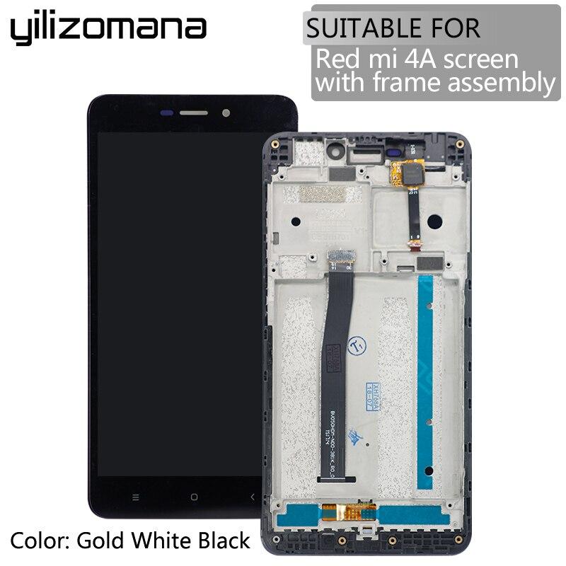 YILIZOMANA Alta Qualidade Original Substituição Display LCD + Touch Screen Digitador Assembléia com Quadro Para Xiaomi Redmi 4A + Ferramentas