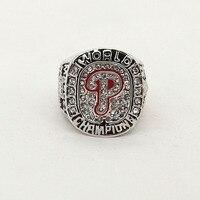 Factory Price Drop Shipping 2008 Philadelphia Phillies Baseball MLB World Series Championship Champions Ring
