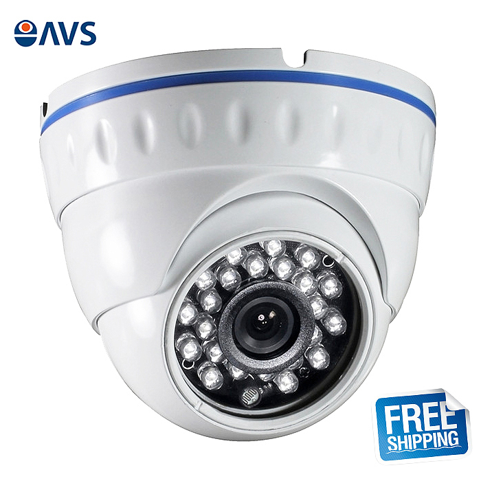 ФОТО Security Cheap 1/4'' CMOS 720P 1.0MP Waterproof  AHD Camera Surveillance System with 24pcs IR 2.8mm Lens