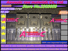 Aoweziic 2018 + % 100 yeni ithal orijinal G4PC50UD IRG4PC50UD IRG4PC50UDPBF TO 247 IGBT transistör 55A 600 V