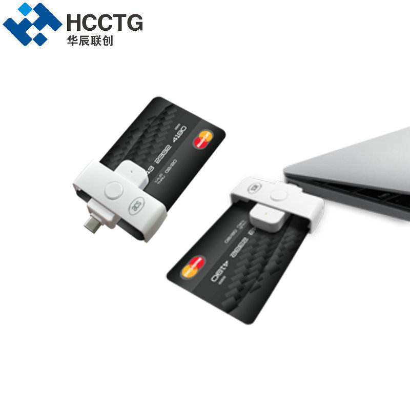 New Pocket Mate II Smart Contact IC Chip Memory USB Type-C Card Reader ACR39U-NF