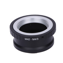 Anillo adaptador de lente M42 M4/3 para lente Tawanda M42 y montaje Micro 4/3 M4/3 para Olympus Panasonic M42 M4/3