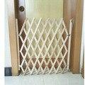 Simple instalar valla puerta de la cerca de madera valla barandilla de Madera puertas correderas puertas de perro Mascota aislamiento Simple redes de seguridad de seguridad para niños