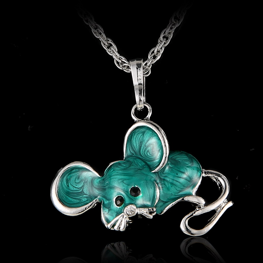 Aliexpress Com Buy Vintage Mouse Rat Necklace For Women