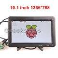"""10.1 """"ЖК-Монитор 1366*768 Экран Панель с Пультом Дистанционного Управления для Raspberry Pi 3/2 Модель B/B +/+"""
