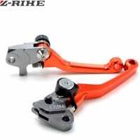 CNC Pivot Foldable Coupling Brake Lever For KTM 125/144SX EXC SXF250 EXC300 SX450 450XC W Supermoto Cross Off Off Road Motocross