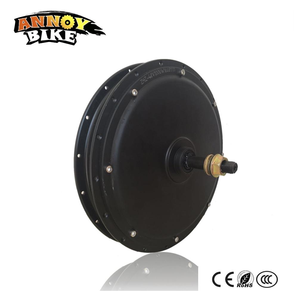 48V1000w Motor náboje zadního kola pro elektrické kolo DC náboj motoru pro elektrické kolo Elektrické kolo zadního pohonu