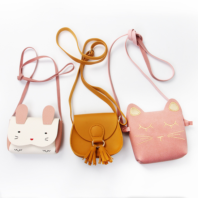 Girls' Cute Cotton Bag