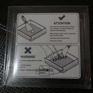 SWMAKER SLA Form1 Form1 Resin Tank for DIY 3D printer Top quality