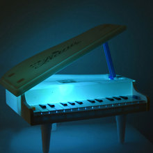 Kids' Educational Piano Toy Electric White Piano Developmental Toy