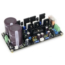 Assembled UPC2581 Power Dual Channel A1943/C5200 HIFI 2*125W Stereo Amp Board 2 channel l20 se power amplifier finished board transistor amplifier board a1943 c5200 350w 350w