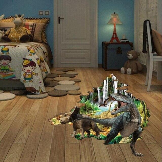 3d Dinosaurier Boden Aufkleber Dekorative Kreative Removable Wand
