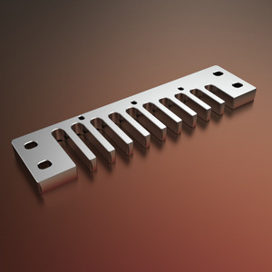 Германия HOHNER 10 отверстий Губная гармошка расческа подходит для серии MBC MBD MB1896 Универсальная металлическая губная гармоника алюминиевая ра...