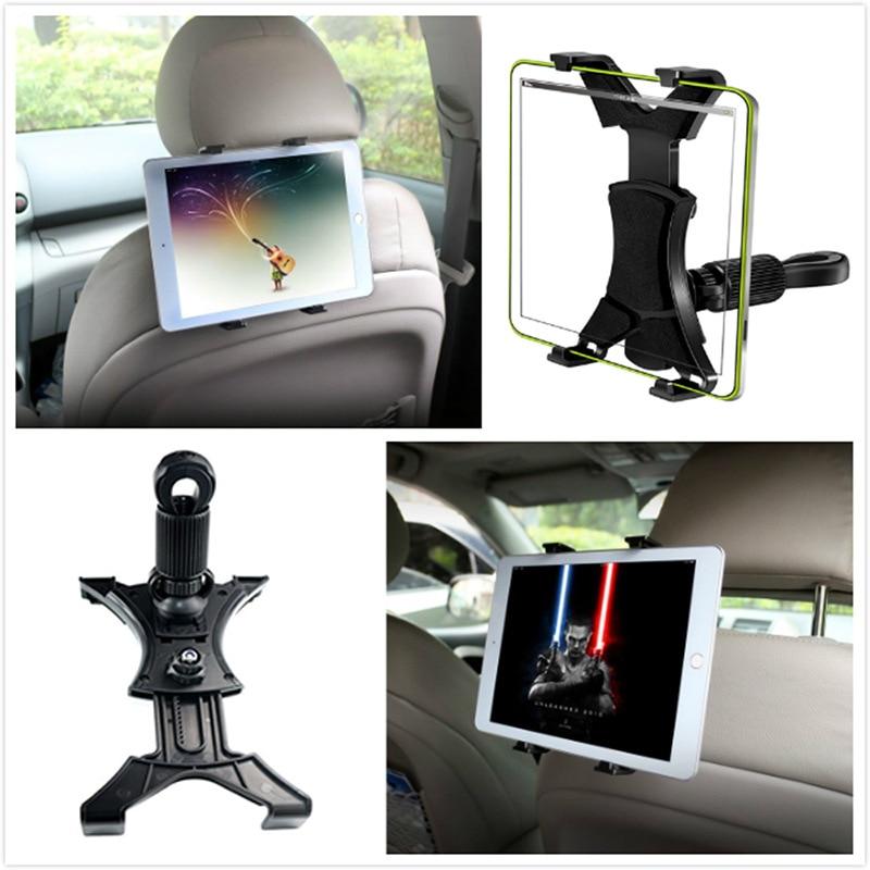 Car Ipad Tablet holder Headrest Mount Holder 360° Adjustable Rotating Back Seat