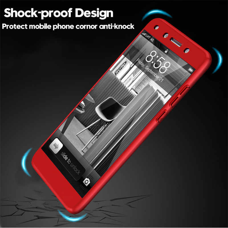 YOMILE Full Protection Phone Case For Huawei Mate 8 9 10 Pro Free Tempered  Glass Cover For Huawei P9 P10 Plus P20 Lite Pro Cases