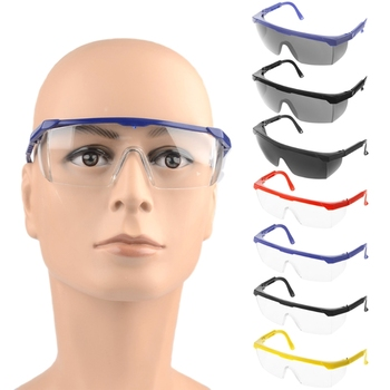 Safety Glasses Made With Polycarbonate lens And PC Material For Eye Protection Goggles