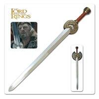 Lohan the king's sword Movie Lord of the rings ring Wang Shengjian Medieval armor swords European style sword edge