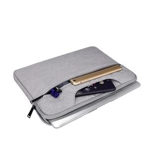 Image 2 - حقيبة يد للحاسوب المحمول كم كيس واقية حقيبة Ultrabook دفتر حمل حقائب 13 14 15 15.6 بوصة لماك بوك اير برو آسوس أيسر ديل