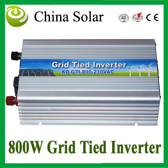 800W Grid Tie Micro Inverter DC10.5-28V Pure Sine Wave Solar Inverter with MPPT Function + 3 years warranty 260w grid tie micro inverter dc22 50v to ac180 260v pure sine wave solar inverters mppt function for 200 300w solar panels