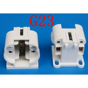 Image 3 - 10pcs/lot G23 Lamp Holder G23 Lamp Socket G23 Energy Saving Table Lamp Base Lighting Accessories