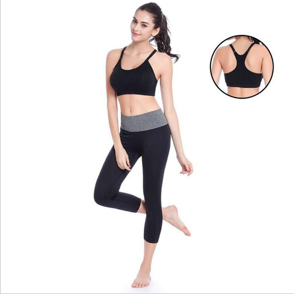 New Fashion Professional Anti Vibration Bra Stylish Yoga Training Running Padded Wireless Home Daily Sleep Bra Top Sportwear In Stock Sports Clothing Sports Bras