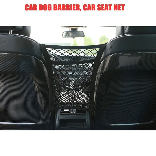 30*27' Three layers Car Organizer Seat Back Storage Elastic Mesh Net Between Bag Luggage Holder Pocket for Vehicles Car Styling