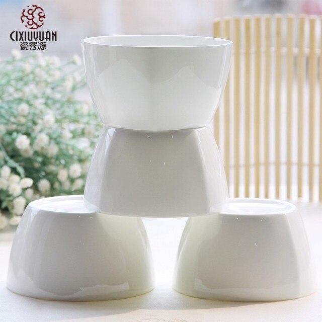9.5 inch fine bone china kitchen bowl square crockery big bowl set ceramic & 9.5 inch fine bone china kitchen bowl square crockery big bowl set ...