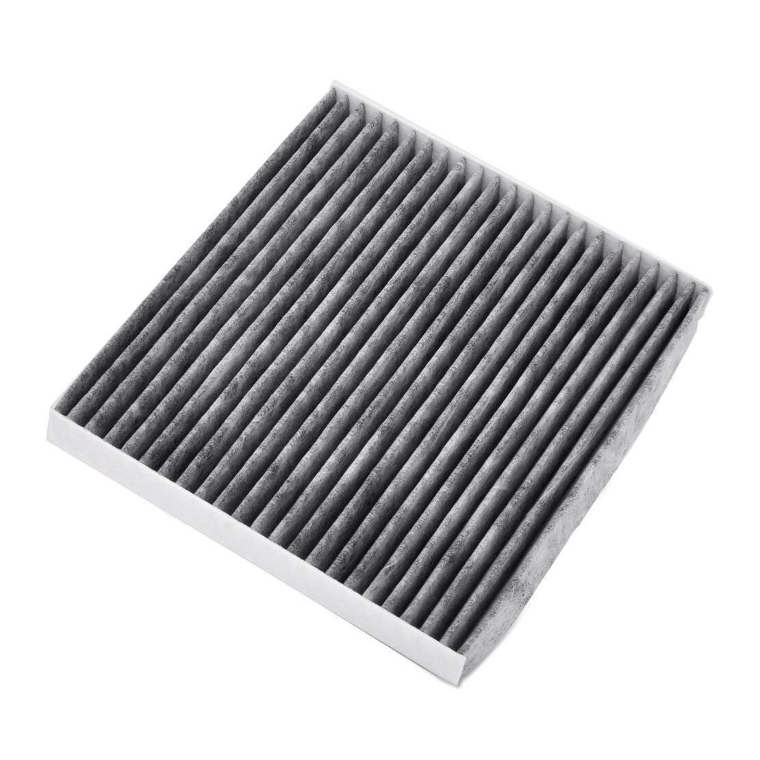 Dwcx car carbon fiber cabin air filter 6 gj6b 61 p11 gj6a 61