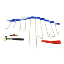 Furuix Dent Repair Rod Hook tools PDR tools Dent Removal Set Herramientas Paintless Hail Removal Rod