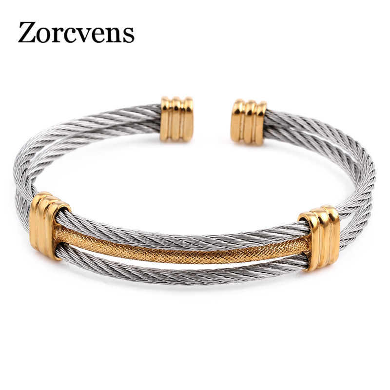 ZORCVENS new arrival spring wire line colorful titanium steel ...