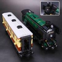 L Modèles Bâtiment jouet Compatible avec Lego L21005 1109 pcs Nuit Train Blocs Jouets Passe-Temps Pour Garçons Filles Modèle de Construction Kits