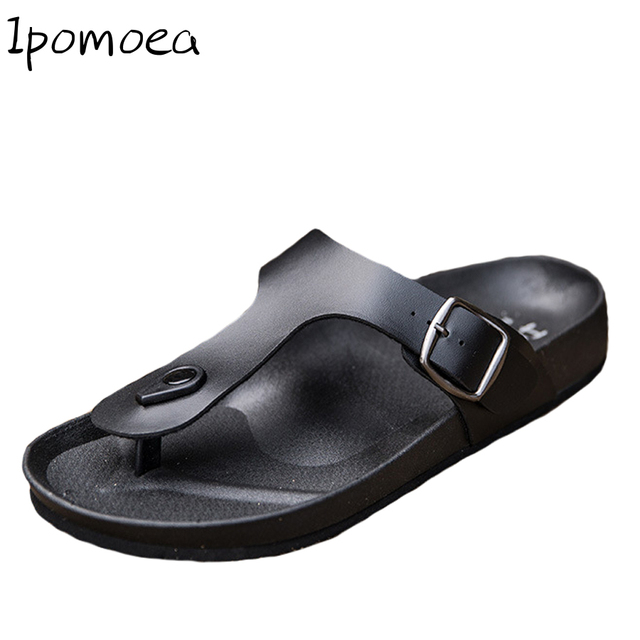 af24be6249a3dc Cork Style Designer Flip Flops Men Slippers Summer Fashion Men Outdoor  Casual Beach Shoes Hawaiian Flip Flops Cool Male Slipper