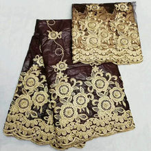 91f49cb0561c African Laces Fabrics for Wedding Dresses African Bazin Riche Lace Fabric  2018 African Material Bazin Riche