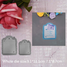 Tag  Metal Steel Cutting Embossing Dies For Scrapbooking paper craft home decoration Craft