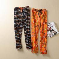 Women S Sleep Pants Flannel Winter Warm Trousers Women Lounge Pants Sleep Bottoms